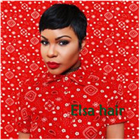 Brazilian Virgin human Hair Straight Short Lace Front pixie ...