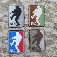 Embroidered Patch MLD MAJOR LEAGUE DOOR KICKER ARMY TACTICAL...