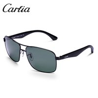 2017 sunglasses men and women Carfia metal sunglasses polari...