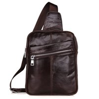 Borse da petto in vera pelle di modo per uomini Borse Messenger Bags Chest Pack Bag Cross Body Top Quality Track Bads Packs Backpack Borse