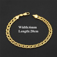 Europe and America New Fashion Bracelet Link 18K Yellow Gold...