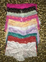 Marque Femmes Plus La Taille M-XXL Mémoires Sous-Vêtements Culottes Respirant Femme Boxers Shorts Femmes Hipster Panty Panty Lingerie Livraison Gratuite SJK