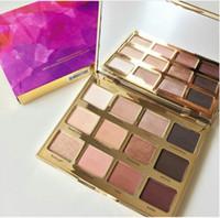 En stock Nuevo maquillaje en Bloom Clay Palette 12 colores Eye Shadow Palette muy buena calidad envío libre de DHL