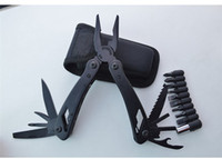 Multi Tool Klappzange mit Messer Schraubendreher Bits Ferramentas Camping Überleben Multitool Handwerkzeuge Ferramentas Para Bike