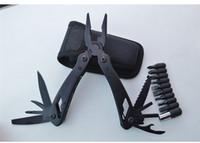 Multi Tool Folding Pliers with Knife Screwdriver Bits Ferram...