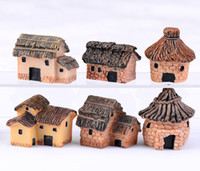 30pcs free shiping 6options tiny houses fairy decorative DIY...