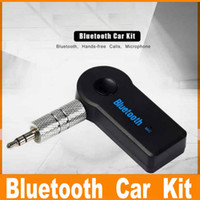 Universal 3. 5mm Bluetooth Car Kit A2DP Wireless AUX Audio Mu...