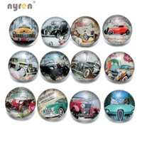 KZ0375 Wholesale 12pcs lot Mixed car styles 18mm snap button...