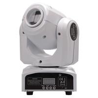 Hareketli Kafa Işıkları LED 10 W 30 W Noktalar Işık DMX Sahne Noktası Hareketli 8 Renkler Mini LED Hareketli Kafa