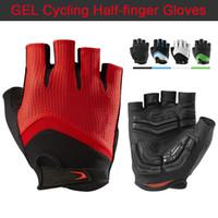 2017 Лучшие качества Половина Finger Велоспорт Перчатки Горный велосипед Guantes Ciclismo MTB перчатки скоростному спуску