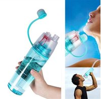 Creative Spray Sport Water Bottle Cycling Fruit Juice Bicycl...
