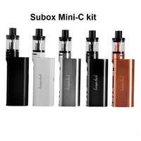 Kanger Subox Mini C 50W Kit KBOX с 3 мл Top Refilling Kangertech Protank 5 Atomizer Starter Kit subox topbox mini kit