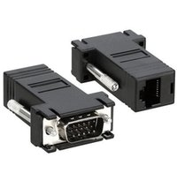 10 sztuk Nowy VGA Extender Male do LAN CAT5 CAT6 RJ45 Network Cable Kit Zestaw adaptera