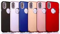 Cell Phone Cover for iPhone X TPU Electroplating Button Oil ...