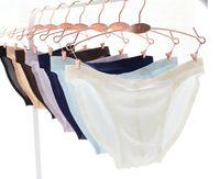 High-end simple Underpants maschio Intimo seamless da uomo Low-life traspirante Mid Rise Sexy slip Bikini 7 colori M L XL XXL XXXL
