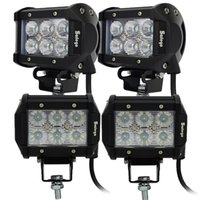 "4"" inch 18W Cree LED Work Light Bar Lamp Motorcycle Tra..."
