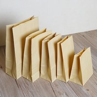 50Pcs Lot Retail Multi Sizes Flat Open Top Kraft Paper Gift ...