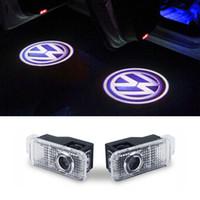 LED Tür Warnleuchte Mit Logo Projektor FÜR Volkswagen VW Phaeton Passat B5 B5.5 Auto Styling