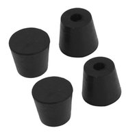 Furniture Furniture Legs Home Furniture Black Rubber Feet 13 Mm X 7 Mm 30 Pcs Outstanding Features