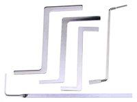 5 Pcs Serrurier Outils Multifonction Verrouillage Métallique Cueillette Tension Clé Poussoir Rotation Tige Outils Verrouillage Pick Outils Ensemble Serrurier Fourniture