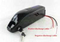 US EU Freie Steuer 13S4P Sanyo 48V 14Ah Delphin Ebike Batterie mit 2A-Ladegerät für 48V 1000W 8fun Nabenmotor Bafang Mitte Motor