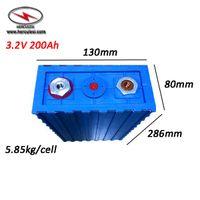 Wiederaufladbare 3.2V LiFePO4 Batterie 200 Ah Zellen LiFePO4 Lithium-Akku Bateria 3.2V 200A 100A für DIY Solarenergiespeicher Fahrzeug