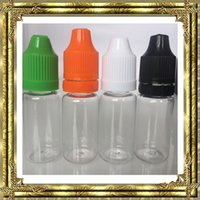 Good quality 5ml 10ml 15ml 20ml 30ml 50ml Empty E Liquid Pla...