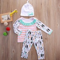 Baby Girls Clothes Toddler Clothing Set Cotton Infant Outfit...