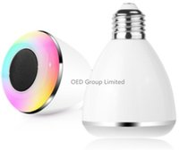 Colorful LED Smart Bulbs Phone APP control Music RGB Lamp 20...