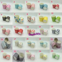 3000Pcs Lot Round Big Paper Cupcake Case in Multiple Pattern...