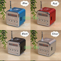 Wholesale- Hot Fashion Aluminum Portable TD- V26 Mini FM Radio...