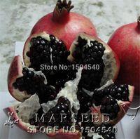 20 pz / borsa Nero semi di melograno casa pianta Deliziosa frutta semi molto grande e dolce per la casa giardino pianta germogliare 95%