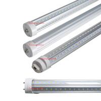 V-образный 5ft T8 LED трубки Одно контактный FA8 G13 R17D светодиодные лампы вращающейся основе SMD2835 светодиодные лампы дневного света AC85-265V CE RoHS