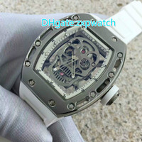 High- quality hollow mechanical fashion skull Tourbillon men&...