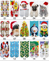 XMAS INS Children Woman 3d sport socks kids women men hip ho...