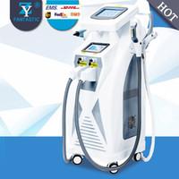 Yeni Popüler 4 1 IPL RF yag lazer IPL SHR epilasyon cilt gençleştirme dövme kaldırma için OPT makinesi salon