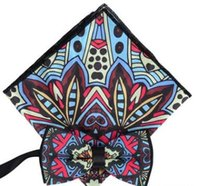 Yeni erkek iş cep havlu papyon elbise düğün damat yay bağları 7 renk seçebilirsiniz