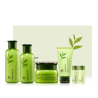 Innisfree Green Tea Balancing Special Skin Care Set Lotion C...