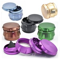 Metal Herbal Grinders 63mm*50mm Tobacco Grinder 4 Parts CNC ...
