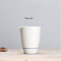 Süper kalite handpainted mavi ve beyaz Çin adil fincan jingdezhen seramik cha hai kongfu teacups T13 + ücretsiz 7g teiguanyin çay