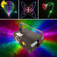 Relé láser de modulación analógica de 300 mw RGB y animación con tarjeta SD / iluminación de dj / láser de fiesta / club / iluminación de pub / proyector de logotipo