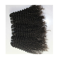 Kinky curly Weaves 9A High Quality Human Hair Extensions Per...