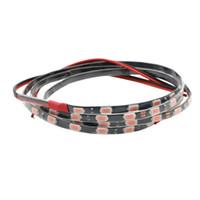 90CM Super Brillante 5mm Tira de LED 5730 5M 60 SMD Tubo impermeable 12V DC (PCB negro PCB blanco) 8 Color de emisión