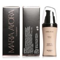 MARIA AYORA Base Rosto Fundação Líquido BB Creme Concealer Clarear A Pele Clareamento Hidratante Maquiagem Beleza 30 ml