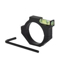 SINAIRSOFT 시력 범위 버블 스피릿 레벨 스코프 마운트 홀더 25.4mm 및 30mm 링 마운트 홀더 용 1 인치 라이플 스코프 레이저 그라데이션 기