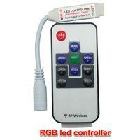 미니 50PCS DC5-24V 11keys RF 무선 원격 스위치 컨트롤러는 유연한 테이프 RGB를 들어 주차 LED 5050 / 3528SMD RGB LED 스트립 조명 모듈