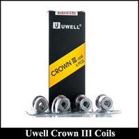 40pcs Sell Uwell Crown 3 Replacement Coils 0. 25ohm 0. 5ohm SU...