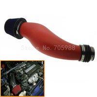PIPE D'ADMISSION D'AIR EN PLASTIQUE RED RACING POUR HONDA CIVIC 92-00 EK EG AVEC PIPE D'ADMISSION DE FILTRE A AIR