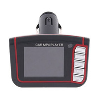"""80pcs New LCD Car MP3 MP4 1.8"""" Player FM Transmitter Free DHL Fedex shipping Through cigarette lighter of your car"""