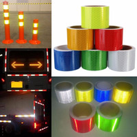 Reflective Safety Warning Tape Multi Colors For Car Truck Bu...